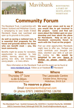Community Forum Meeting - 5 June